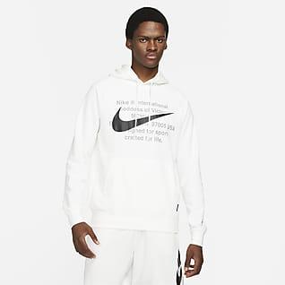 Nike Sportswear Swoosh Sudadera con capucha sin cierre de French Terry para hombre