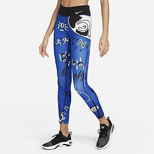 Nike Epic Faster Hackney Løpeleggings i 7/8 lengde med mellomhøyt liv til dame