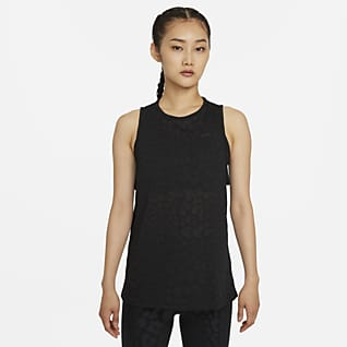 Nike Pro Dri-FIT Γυναικείο εμπριμέ φανελάκι