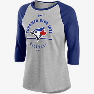 Nike Encircled (MLB Toronto Blue Jays) Women's 3/4-Sleeve T-Shirt