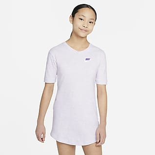 Nike Sportswear Vestido de tejido de punto para niña talla grande