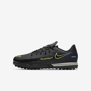 Nike Jr. Phantom GT Academy TF Ποδοσφαιρικό παπούτσι για τεχνητό χλοοτάπητα για μικρά/μεγάλα παιδιά
