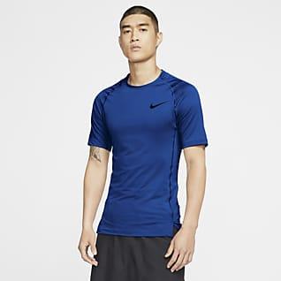 Nike Pro 男子短袖训练紧身上衣