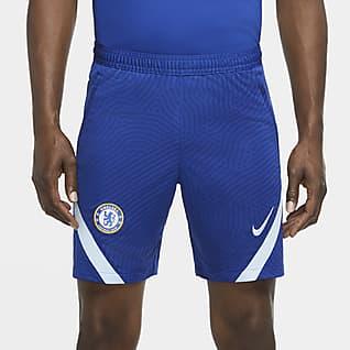 Chelsea FC Strike Shorts de fútbol para hombre