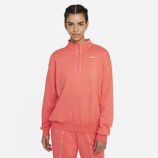 Nike Sportswear Icon Clash Top con medio cierre para mujer