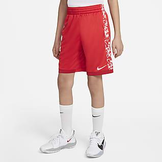 Nike Trophy Shorts de entrenamiento estampados para niños talla grande
