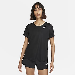 Nike Dri-FIT Race Kurzarm-Laufoberteil für Damen