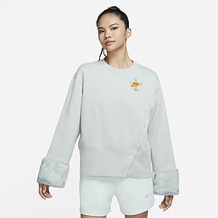 Nike Sportswear 女子起绒圆领运动衫