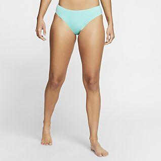 Nike Essential Scoop Women's Swim Bikini Bottoms