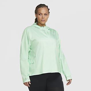 Nike Essential Chamarra de running para mujer talla grande