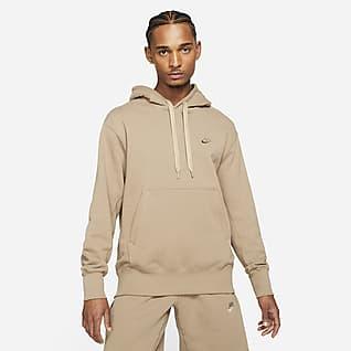 Nike Sportswear Klassisk fleecehuvtröja för män