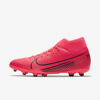 red nike soccer shoes
