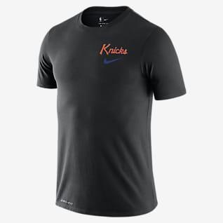 Knicks Wavy Wordmark Men's Nike Dri-FIT NBA T-Shirt