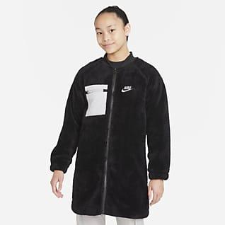 Nike Sportswear Зимняя куртка для девочек школьного возраста