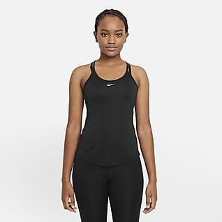 Nike Dri-FIT One Elastika Linne med standardpassform för kvinnor