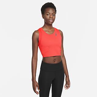 Nike Dri-FIT Race Lauf-Kurztanktop für Damen