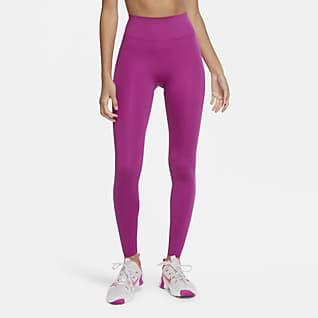 Nike One Luxe Tights med mellemhøj talje til kvinder