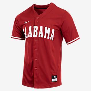 Nike College (Alabama) Men's Full-Button Baseball Jersey