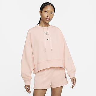 Nike Sportswear Damska bluza o skróconym kroju