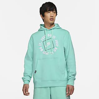 Nike Sportswear JDI Felpa pullover in fleece con cappuccio - Uomo