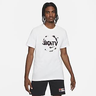 Nike F.C. Playera de fútbol con gráfico para hombre