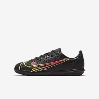 Nike Jr. Mercurial Vapor 14 Academy IC Fotballsko til innendørsbane/gate til små/store barn