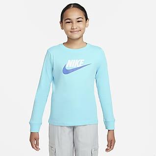 ナイキ スポーツウェア ジュニア (ガールズ) ロングスリーブ Tシャツ