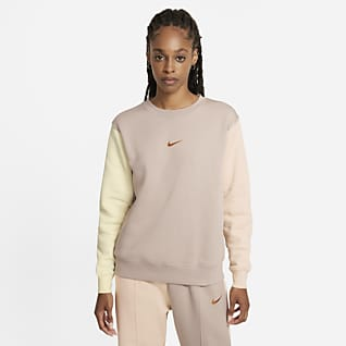 Nike Sportswear Swoosh Kerek nyakkivágású női pulóver