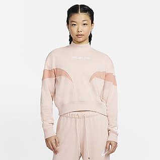 Nike Air เสื้อฟลีซคอเต่าผู้หญิง