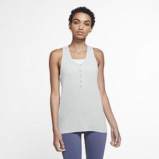 Nike Yoga Women's Henley Tank