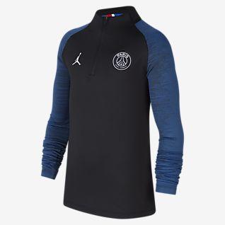 Jordan x Paris Saint-Germain Dri-FIT Strike Futballfelső nagyobb gyerekeknek