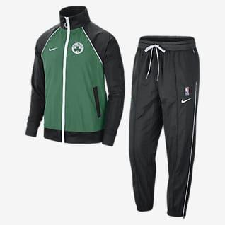 Boston Celtics Courtside Nike NBA-trainingspak voor heren