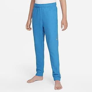 Nike Yoga Dri-FIT Big Kids' (Boys') Training Pants