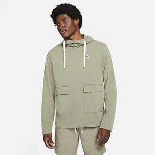 Nike Sportswear Heritage Essentials Felpa pullover in maglia con cappuccio - Uomo