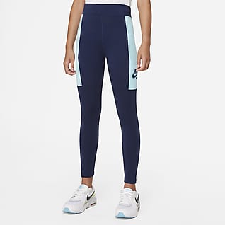 Nike Sportswear Heritage Big Kids' (Girls') Leggings