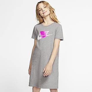 Nike Sportswear Vestido para niña talla grande