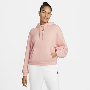 NikeCourt Tennishoodie van fleece voor dames