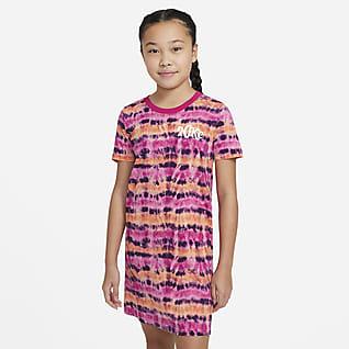 Nike Sportswear Big Kids' (Girls') Tie-Dye T-Shirt Dress