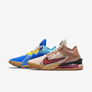 """LeBron 18 Low """"Wile E. vs Roadrunner"""" Баскетбольная обувь"""