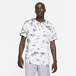 NikeCourt Tie-dye tennisshirt voor heren