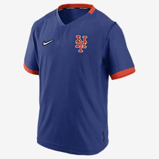 Nike Hot (MLB New York Mets) Men's Short-Sleeve Jacket