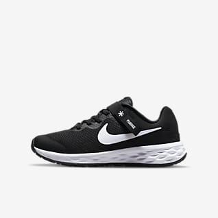 Nike Revolution 6 FlyEase Eenvoudig aan en uit te trekken hardloopschoenen voor kids (straat)