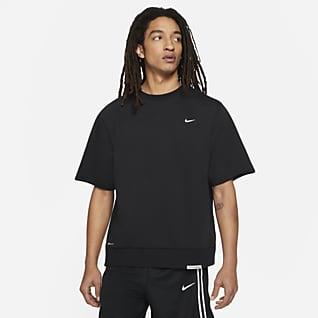Nike Dri-FIT Standard Issue Korte basketbaltop met ronde hals voor heren