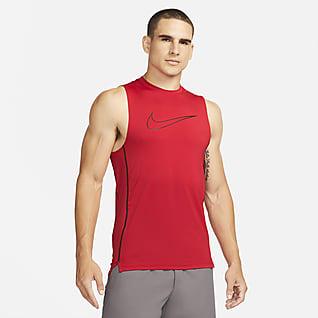 Nike Pro Dri-FIT Camiseta sinmangas y ajuste slim para hombre