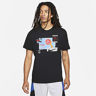 Nike Tee-shirt de basketball pour Homme