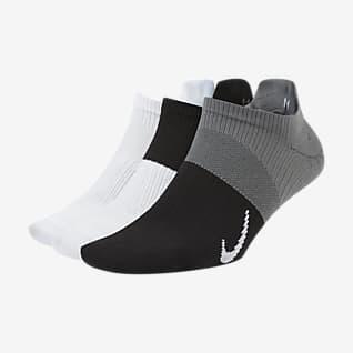 Nike Everyday Plus Lightweight Короткие женские носки для тренинга (3 пары)