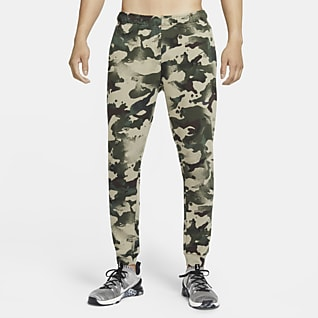 Nike Dri-FIT Camouflagetræningsbukser til mænd