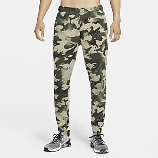 Nike Dri-FIT Trainingsbroek met camouflageprint voor heren