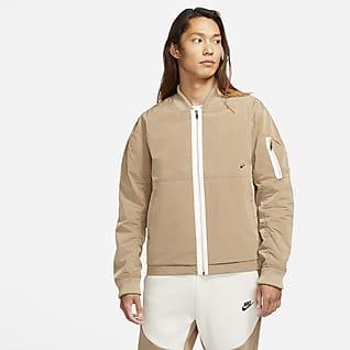 ナイキ スポーツウェア スタイル エッセンシャル メンズ ラインド ボンバージャケット