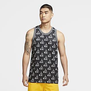 Giannis Men's Sleeveless Printed Top